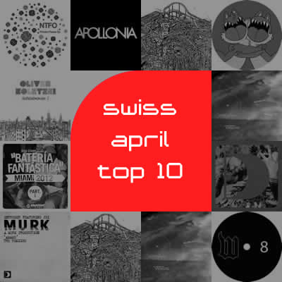 Most Charted Tracks - April 2012