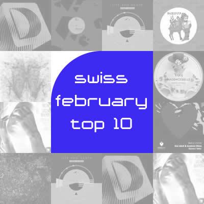 Most Charted Tracks - Februar 2012