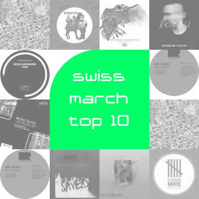 Most Charted Tracks - März 2012