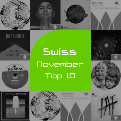 Most Charted Tracks - November 2012