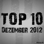 Most Charted Tracks - Dezember 2012