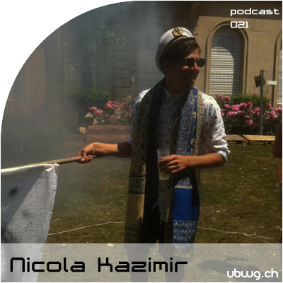 Podcast 021 - Nicola Kazimir