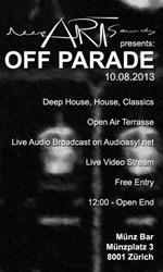 Deep Art Sounds presents Off Parade at Münz Bar