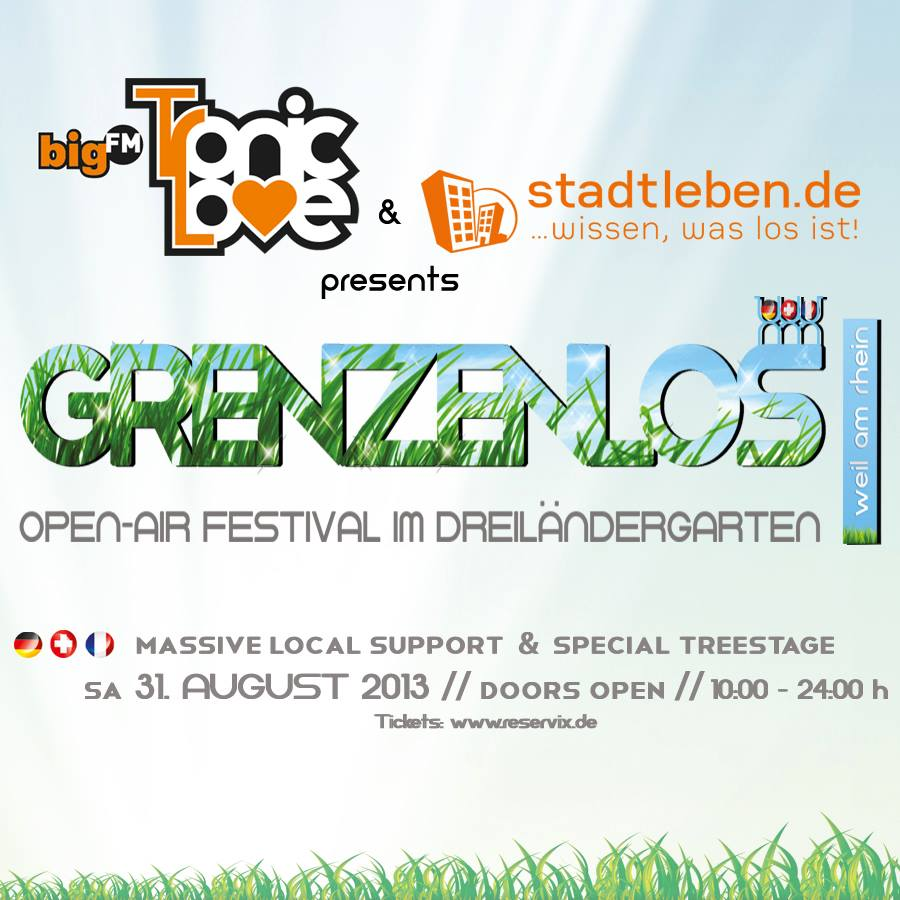 Grenzenlos Openair Festival 2013