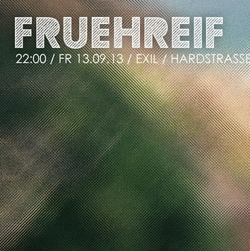 FRÜHREIF - Epilog