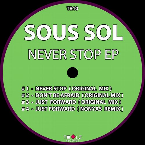 Never Stop EP - Sous Sol