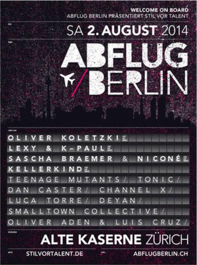 Abflug Berlin @ Streetparade