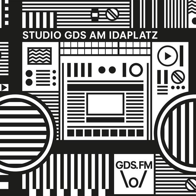 Studio GDS.FM am Idaplatz