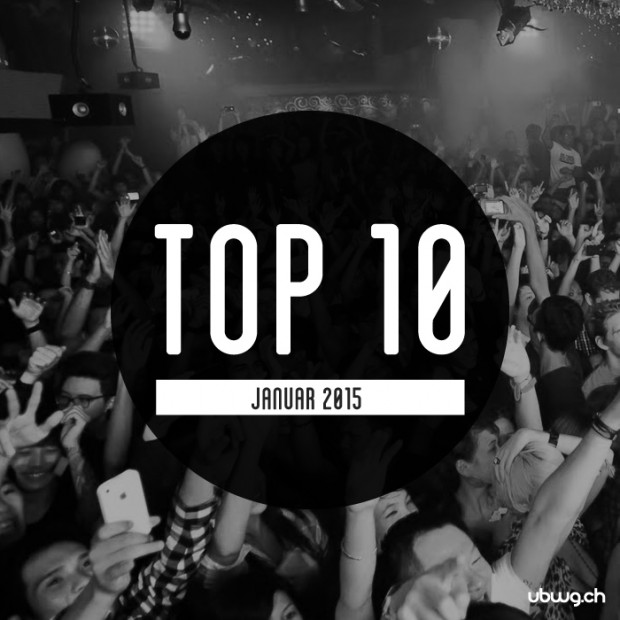 Top 10 für Januar - Most Charted Tracks