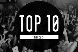Most Charted Tracks Mai 2015