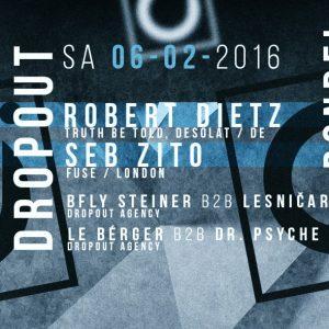 Dropout mit Robert Dietz und Seb Zito