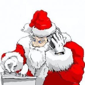 Techno Santa
