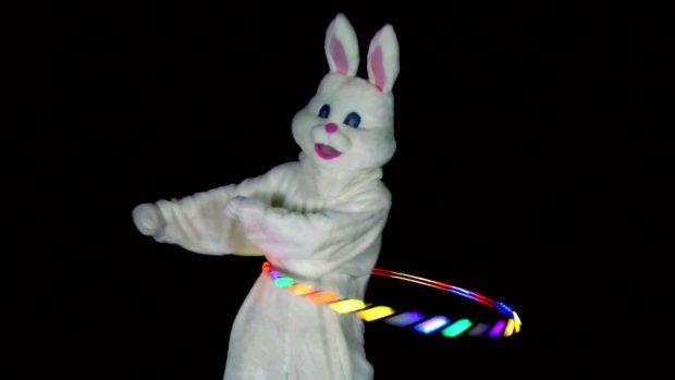 Dancing Easter Bunny