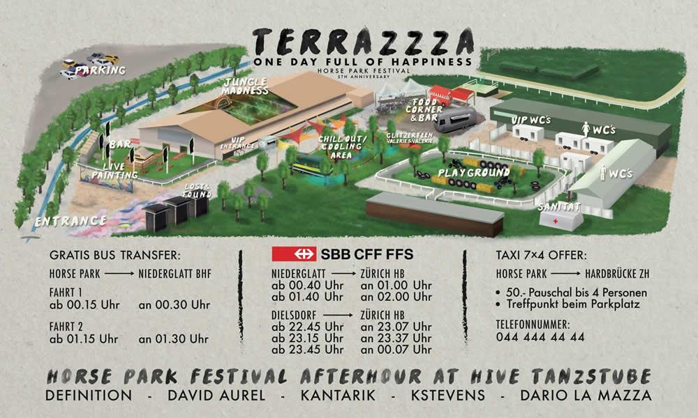 Mit Terrazzza Gehen Die Pferde Durch Horse Park Festival
