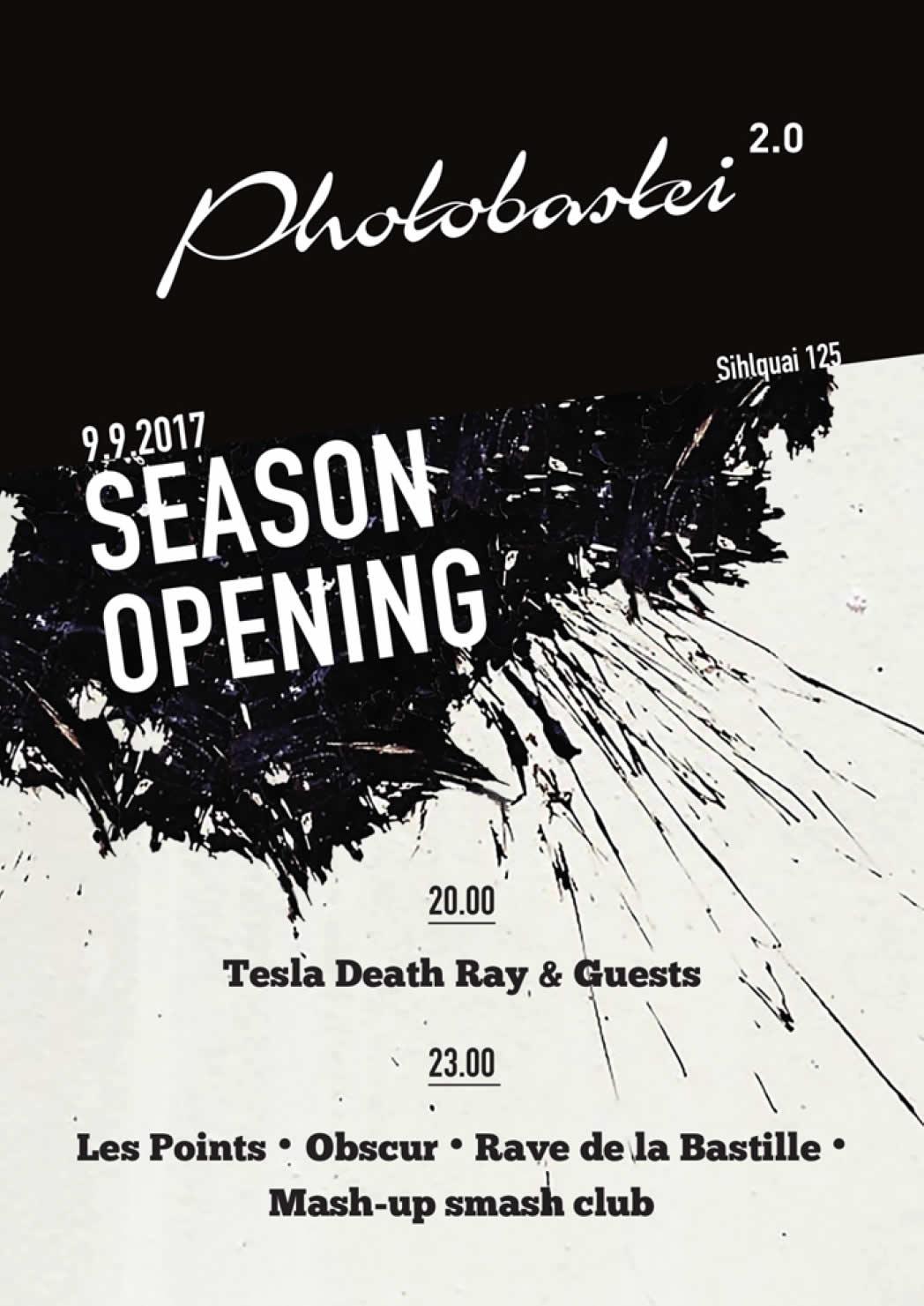 Photobastei 2.0 Pre-Opening