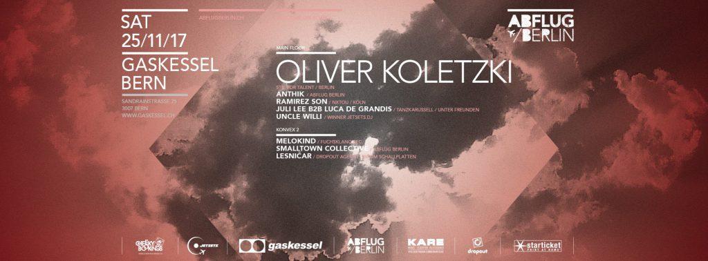 Oliver Koletzki Abflug Berlin