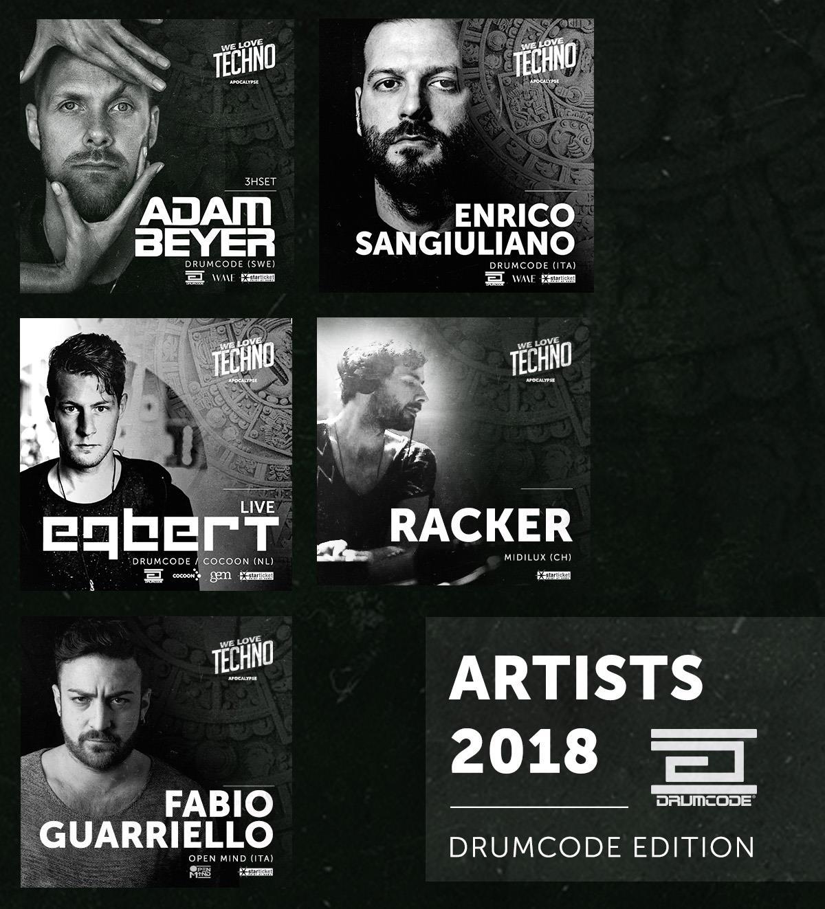 Drumcode Edition - We Love Techno