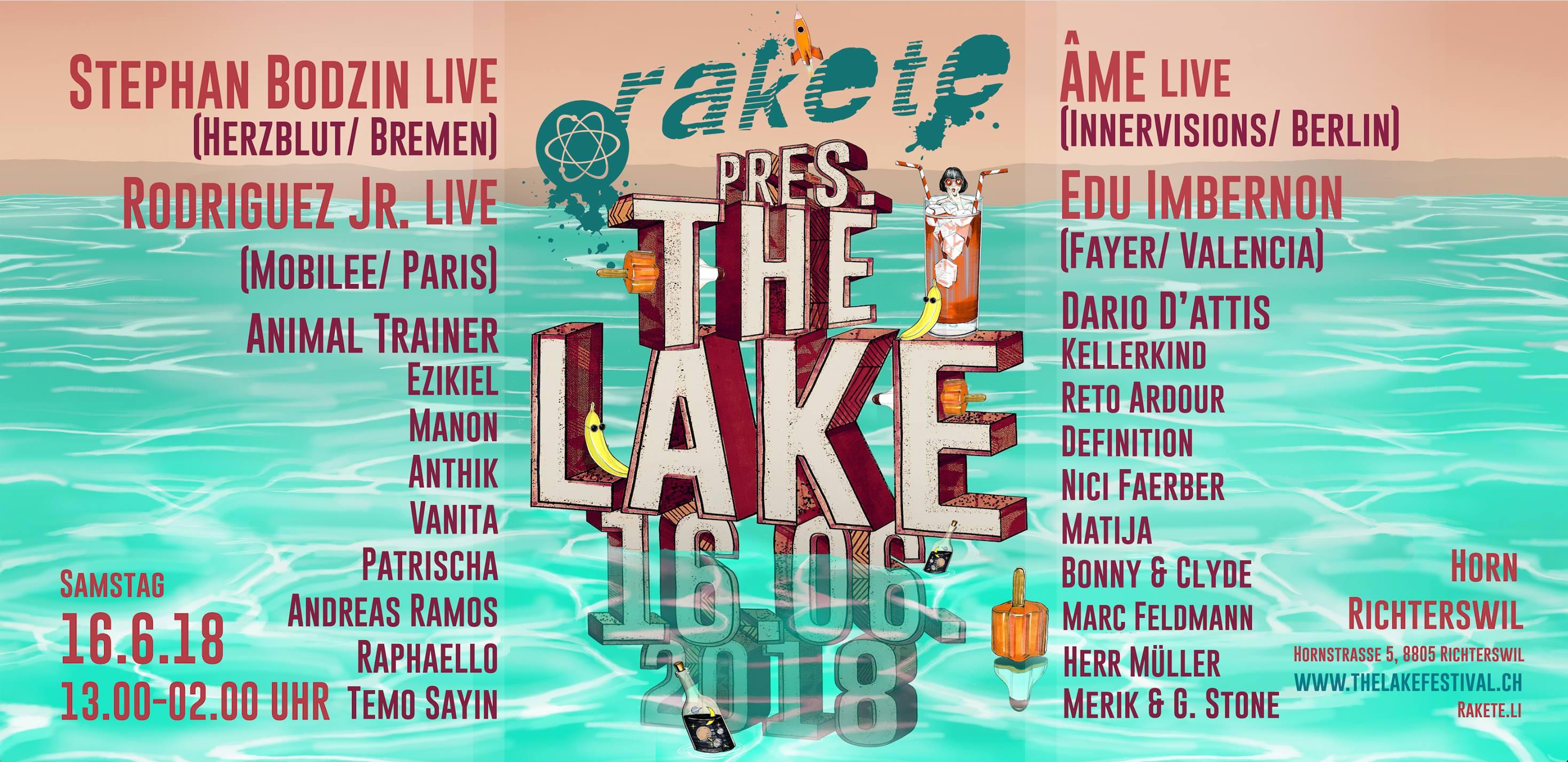Rakete Open Air pres. The Lake 2018