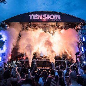 Hochkarätiges Line-Up im Gartenbad – Tension Festival 2018