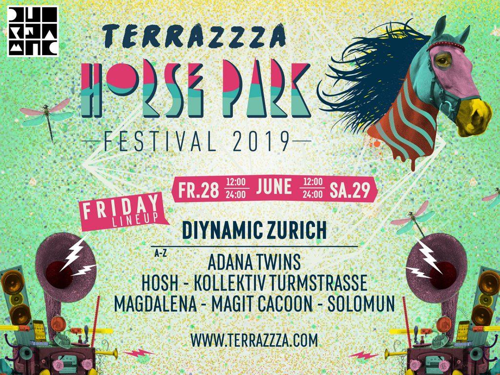 Ein Wilder Ritt Ans Horse Park Festival 2019 Freitag Line