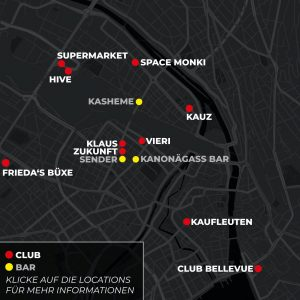 Clubs in Zürich