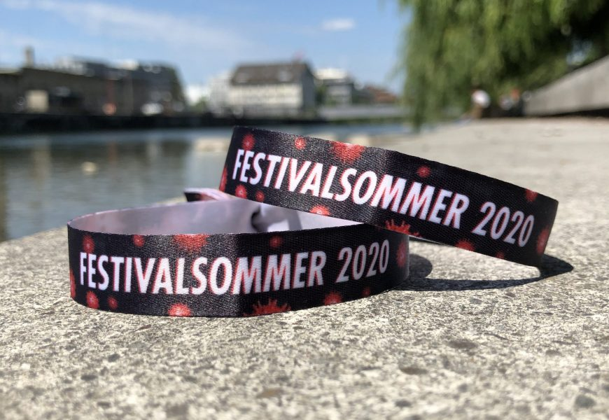 Gönn dir ein Festival-Bändeli und unterstütze deine Lieblingsfestivals